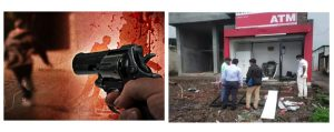 UP: Encounter of two history-sheeters took place on the spot, the miscreants were running away after looting the ATM and killing the guard