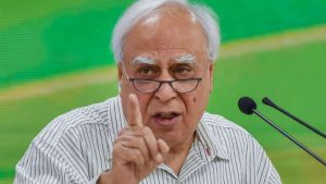 Sushmita Dev resigned from Congress party, youth leave the party, we old people are held responsible: Kapil Sibal