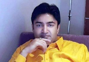 BJP MLA Abhijeet Singh said - 'If someone has power in the red of a mother, then bury the Tajia'