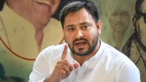 Tejashwi said on the statement that he bought land from the sky, the Chief Minister gets angry habitually