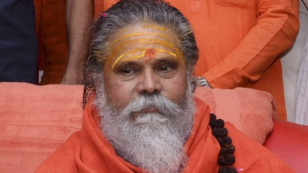 After a year, a Shiva temple will be built on the tomb of Mahant Narendra Giri