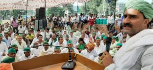 Mahapanchayat: Farmer leaders raised slogans against the government, farmers' issues