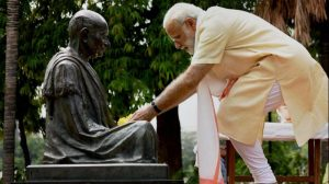 PM Modi said, water will have to be used as prasad
