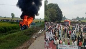 FarmersProtest : Huge ruckus after farmers' death due to 'carrying'